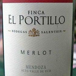Merlot, Uco Valley (Mendoza, Argentina), Il Portillo, 2005