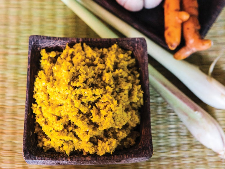 Yellow Khmer Curry Paste (Kroeung)