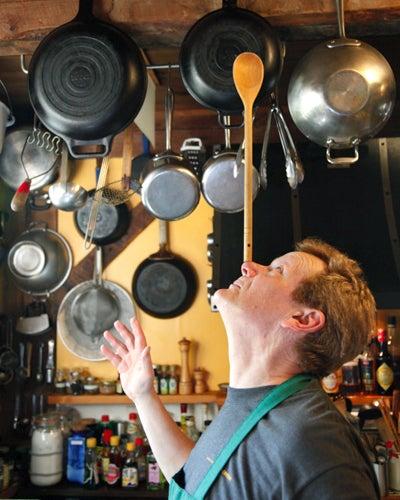 Balancing Act: High-Wire Artist Philippe Petit's Catskills Kitchen