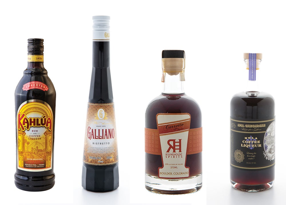 Tasting Notes: Coffee Liqueurs