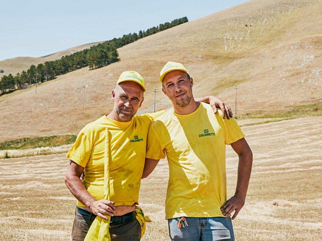 castelluccio workers
