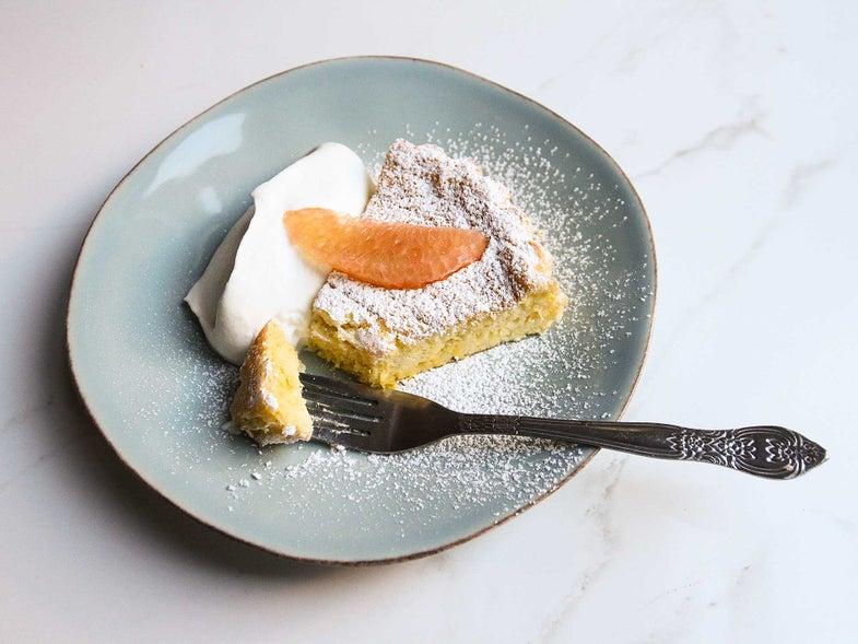 Bake a Smoky-Sweet Chiffon Cake with Mezcal