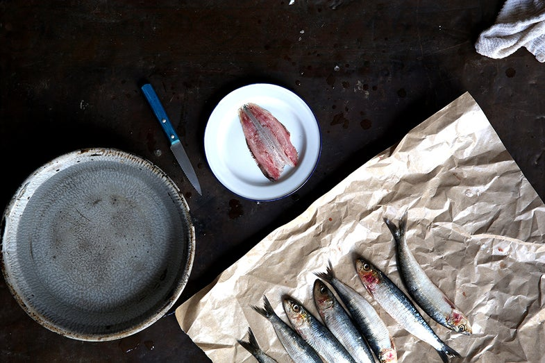 How to Clean and Fillet Sardines