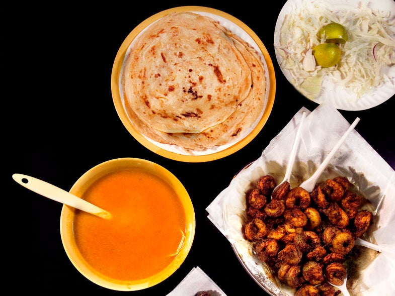Lunch in the Shadow of the Burj Al Arab