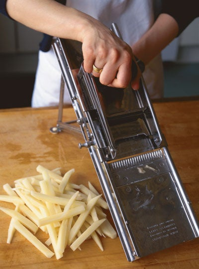 The Art of Making French Fries