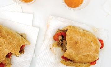 Calf's Liver, Caramelized Onion, and Tomato Sandwiches (Fegato alla Macellara)