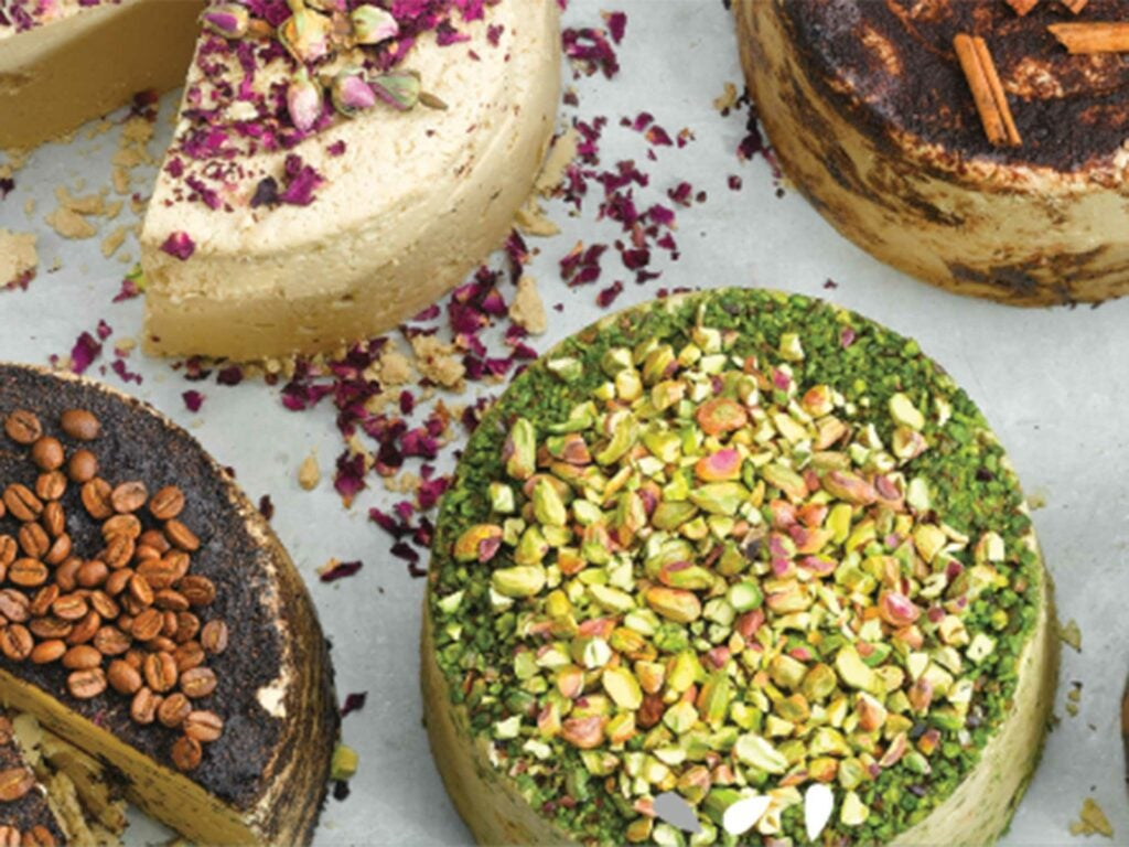 A selection of halva from Seed + Mill