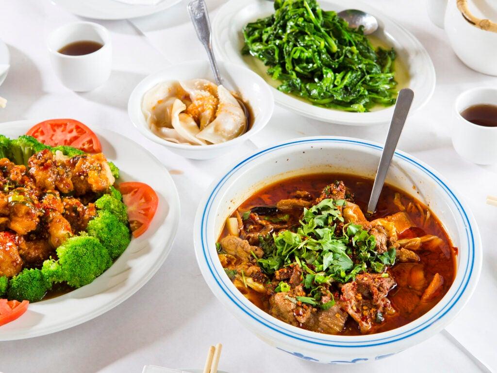 Chongqing Beef Hot Pot at Chengdu Gourmet; Pittsburgh, PA