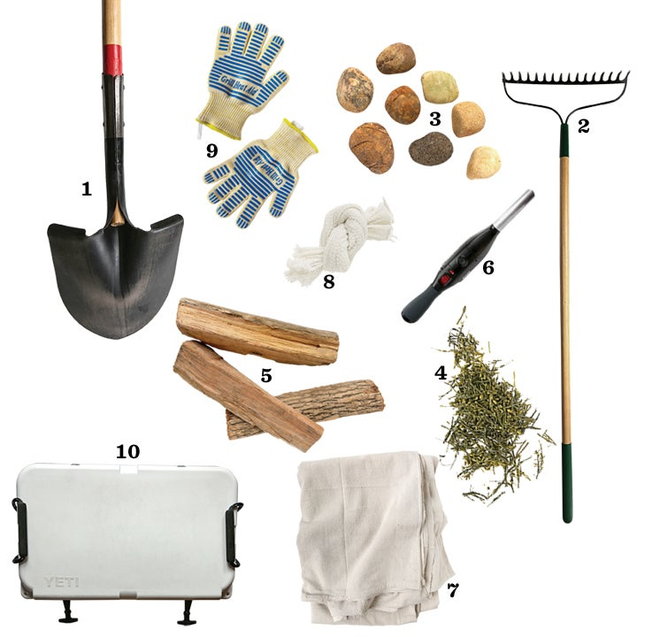 clambake, tools, kitchen, techniques