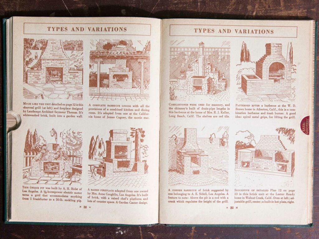 8 of the 24 barbecue types included in the book