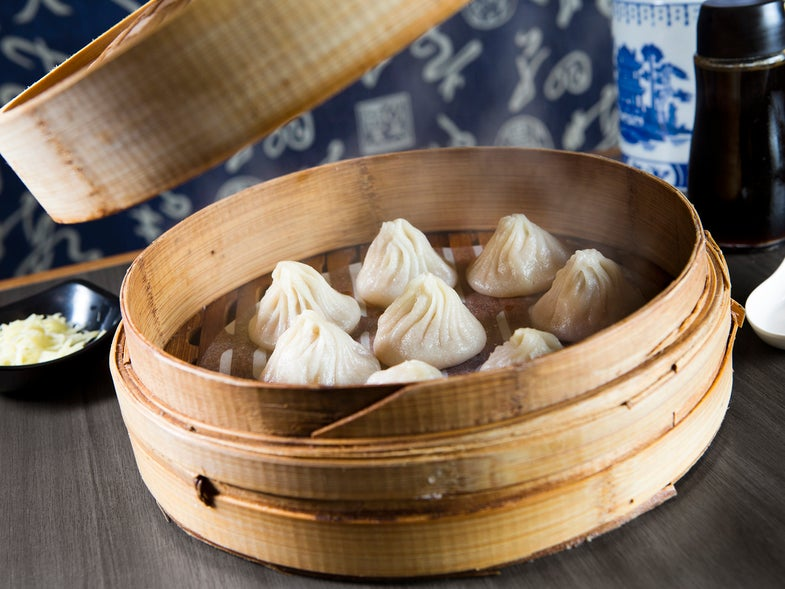 Soup Dumplings at Everyday Noodles; Pittsburg, PA