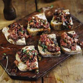 A Vegetarian Italian Dinner Party