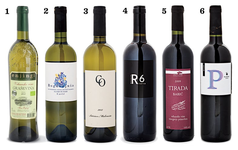 Croatia's Best Bottles