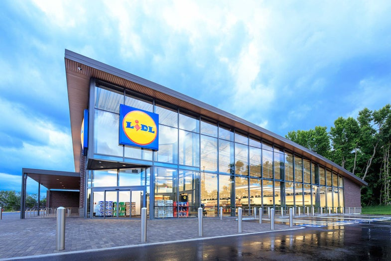 Lidl supermarket in Germany