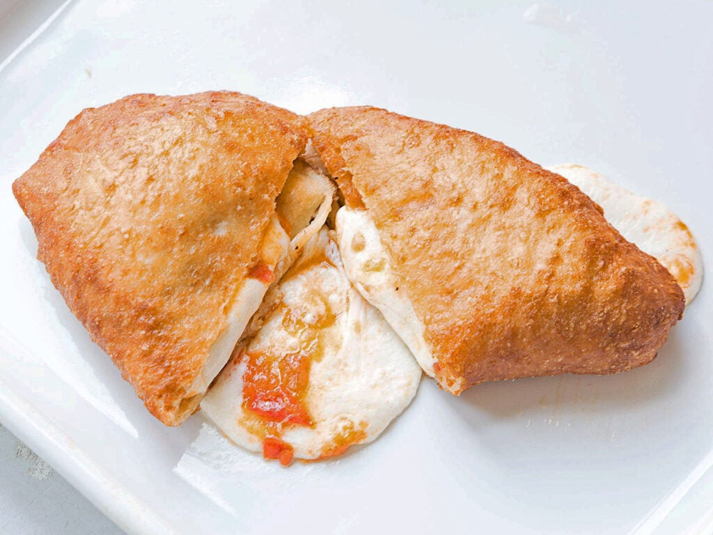 Fresh Tomato and Mozzarella Panzerotti