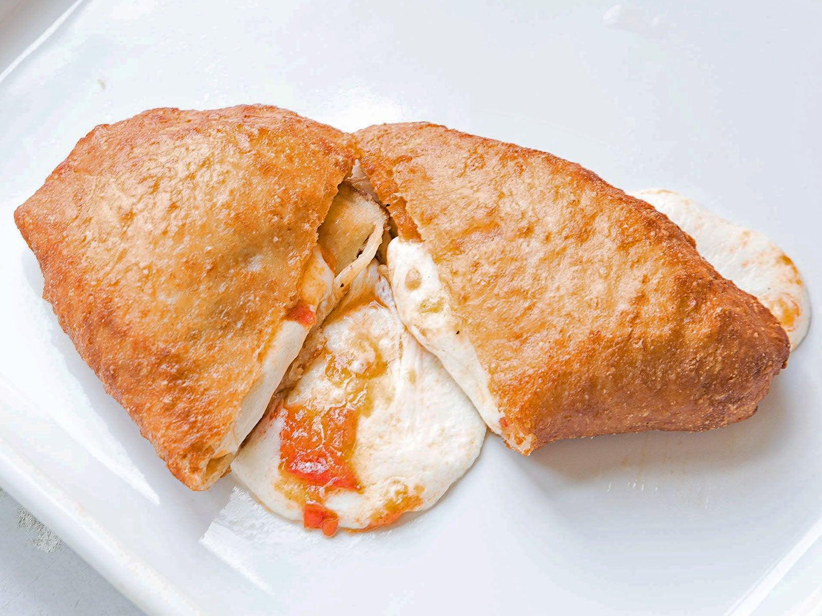 Fresh Tomato and Mozzarella Panzerotti
