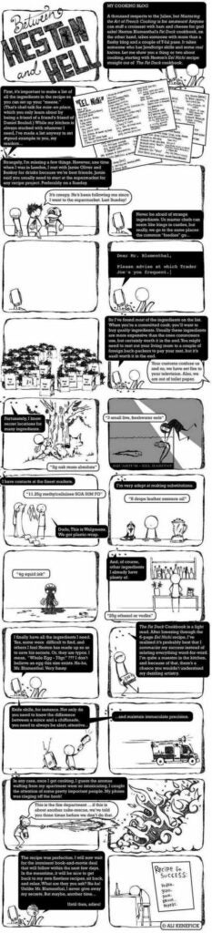 Between Heston and Hell comic strip