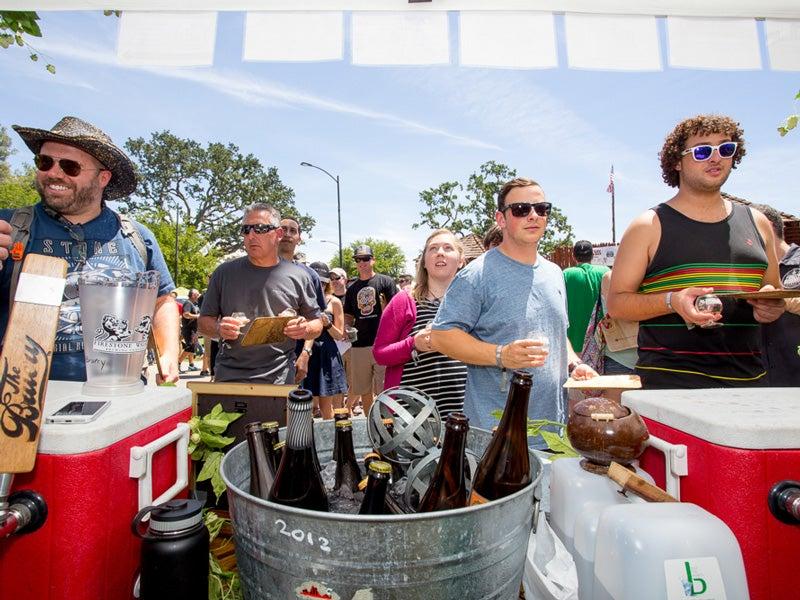 Bruery Booth, Beer geeks, Firestone Walker Invitational