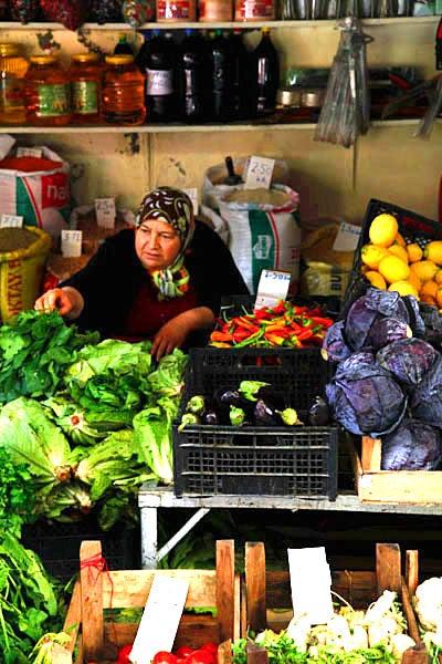 Scenes from Turkish Markets