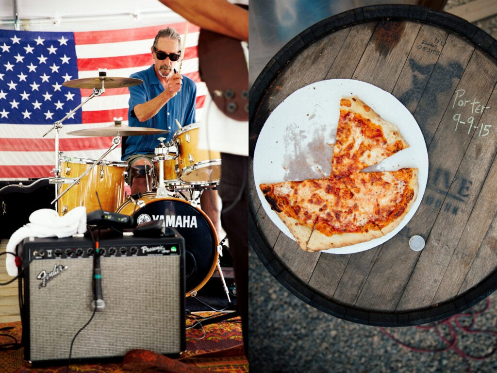 Band and Pizza