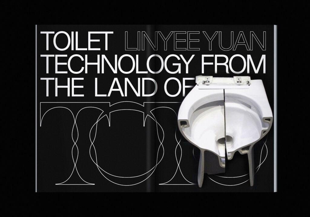 MOLD Magazine Toilet Design
