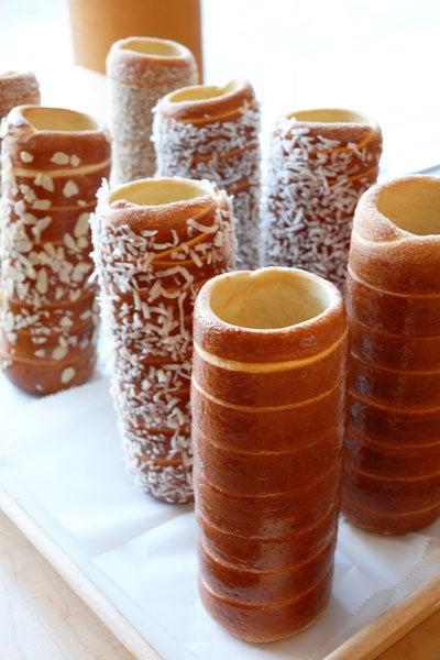 Transylvanian Chimney Cakes