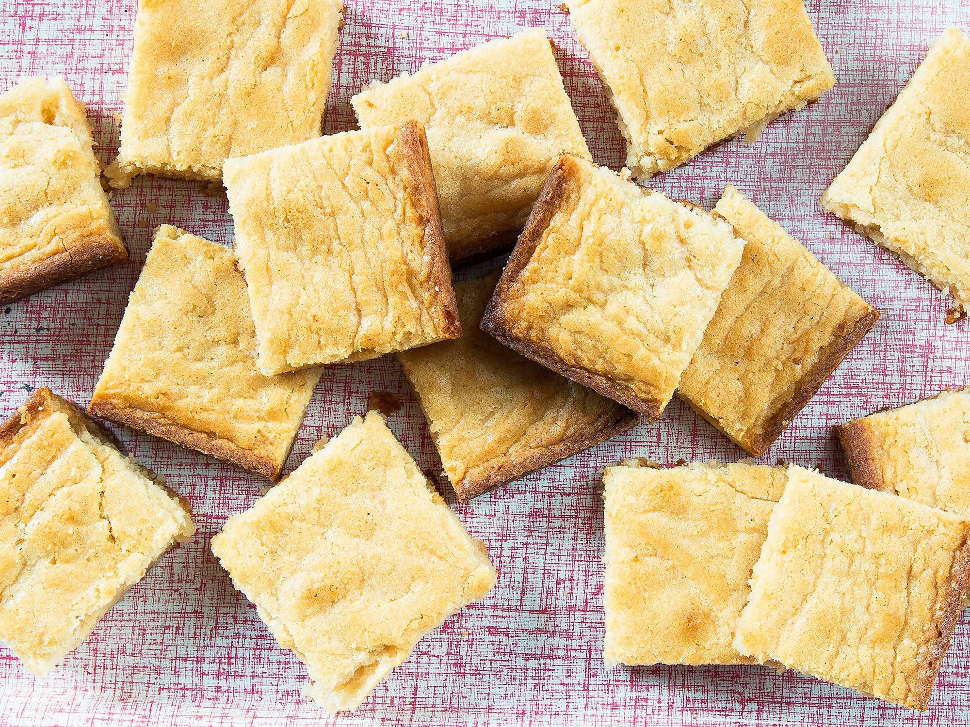 Coconut Blondie Cookies