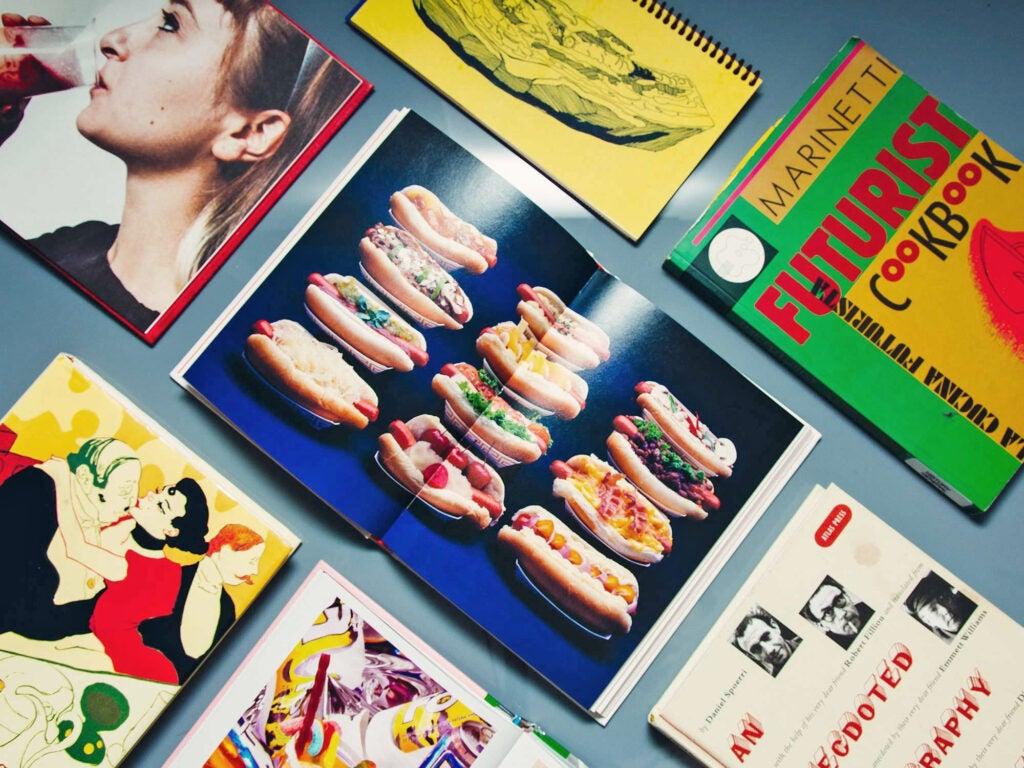 Food, Art, and Design Books