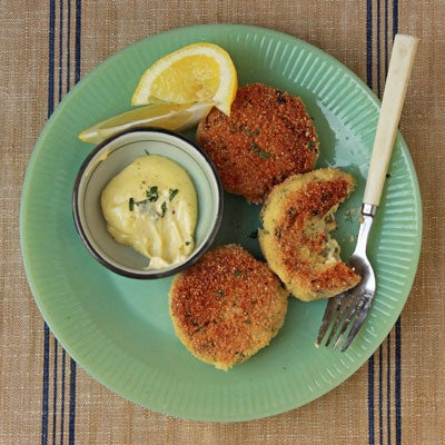 Crab Cakes for Almond Lovers