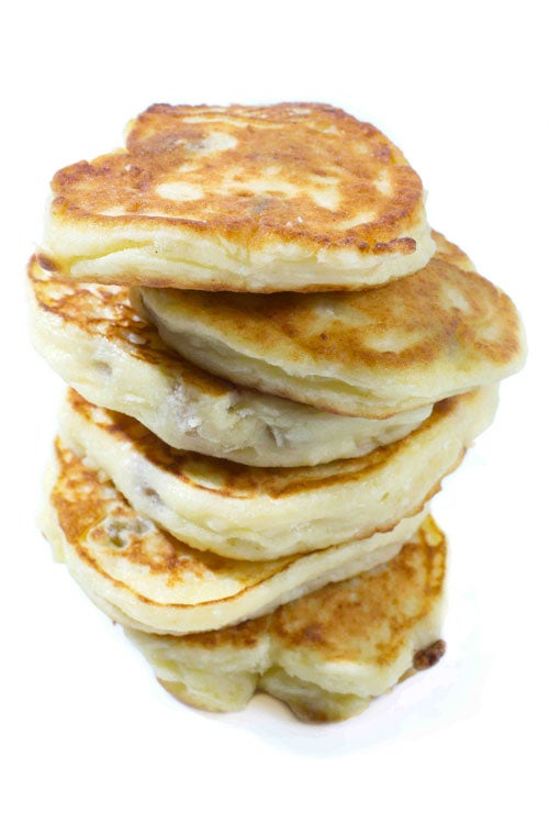 Russian Cheese Pancakes (Syrniki)