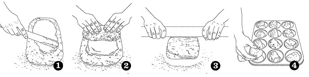 How to Make Butterflake Rolls