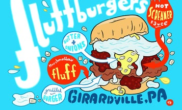 Eat This Magically Delicious Burger Topped With Marshmallow Fluff