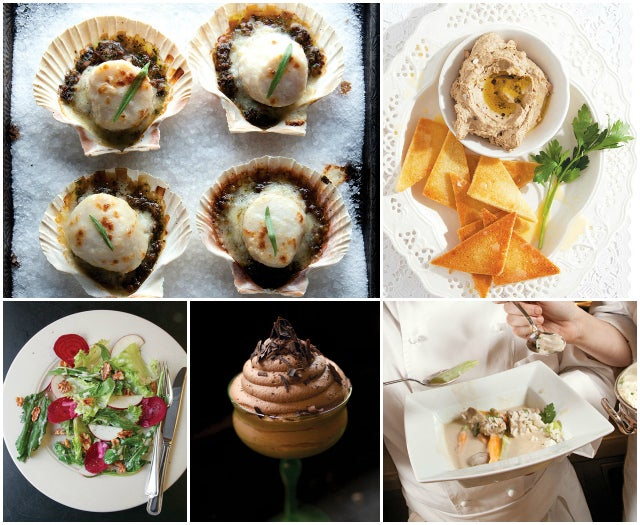 Menu: A Classic French Dinner Party