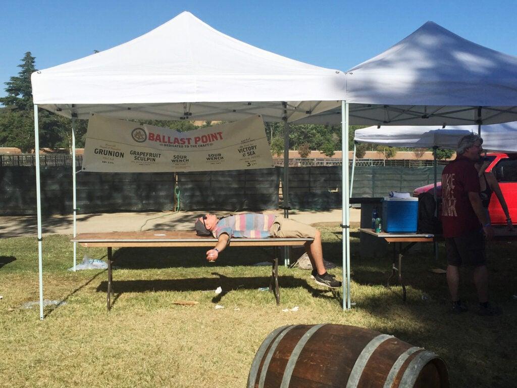 Beer geek culture, End of festival, Firestone Walker Invitational