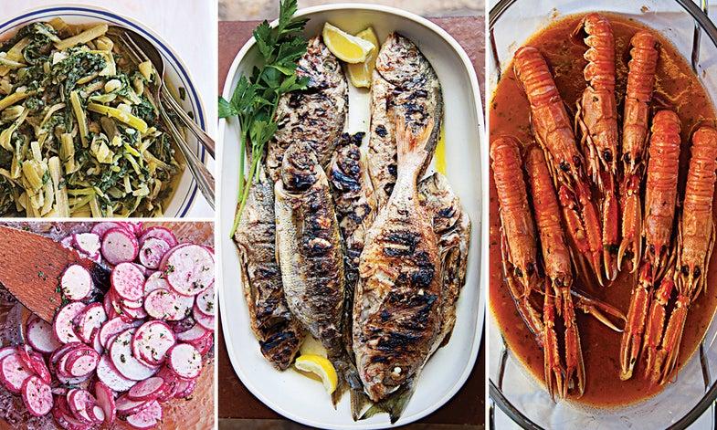 A Croatian Seafood Dinner