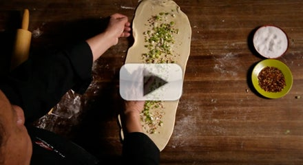 The Classics: Martin Yan Makes Scallion Pancakes