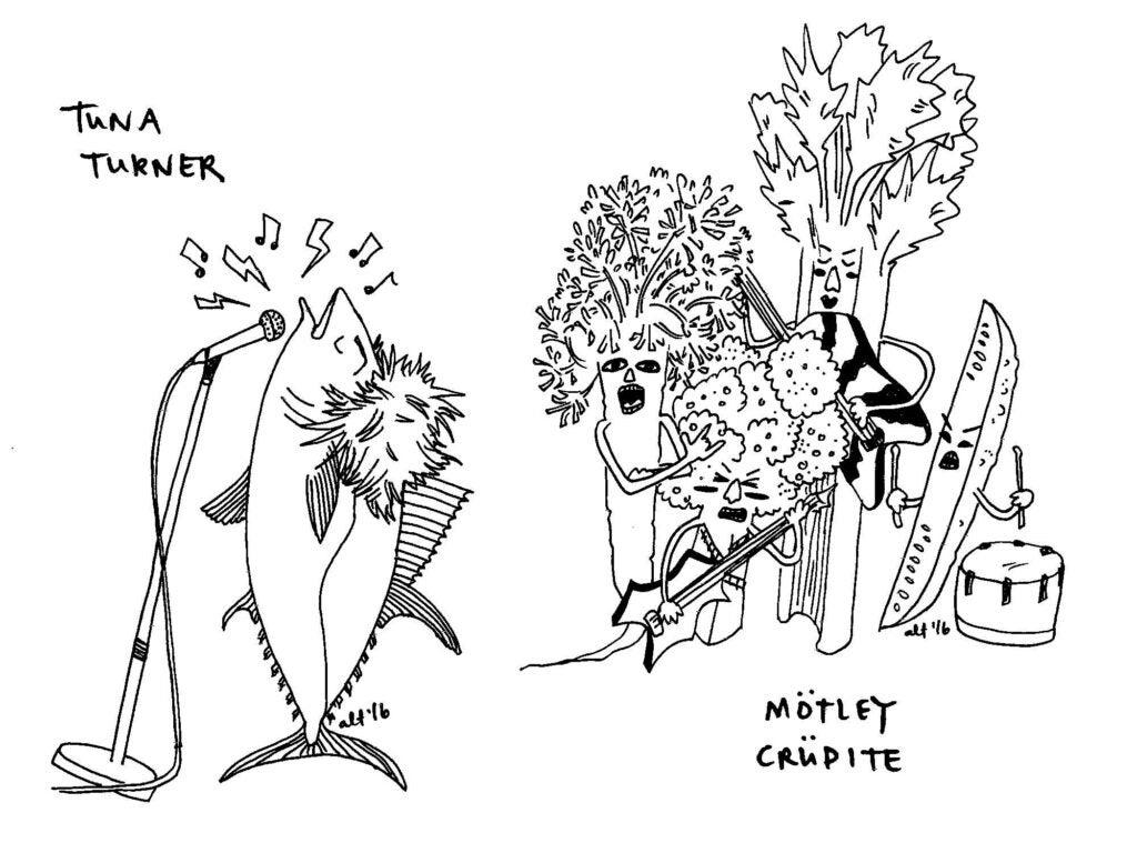 Tuna Turner | Mötley Crudité