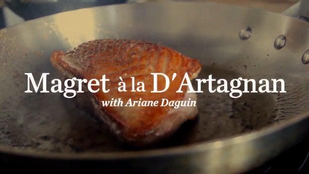VIDEO: Making Magret a la D'Artagnan