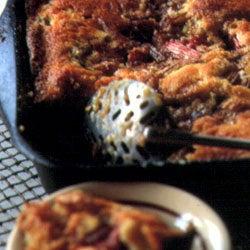 Rhubarb Cobbler