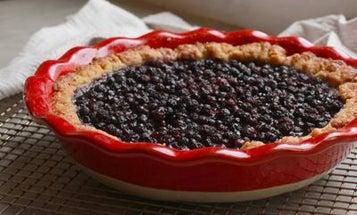 A (Slightly Scandalous) North Haven Blueberry Tart