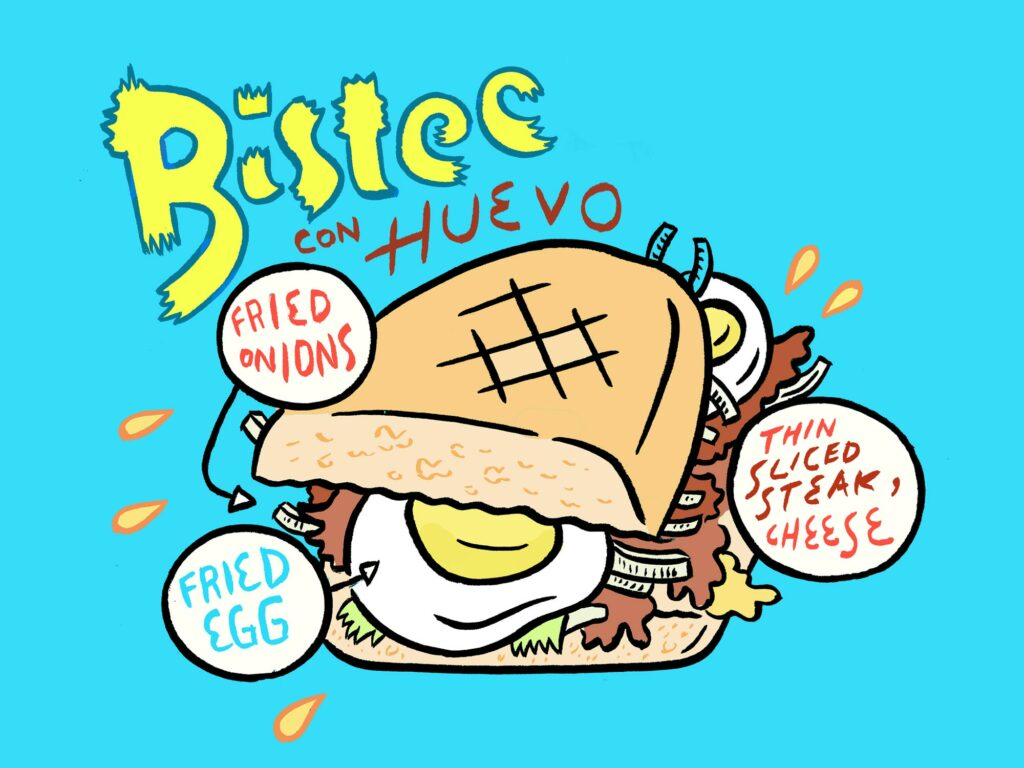 Bistec con Huevo