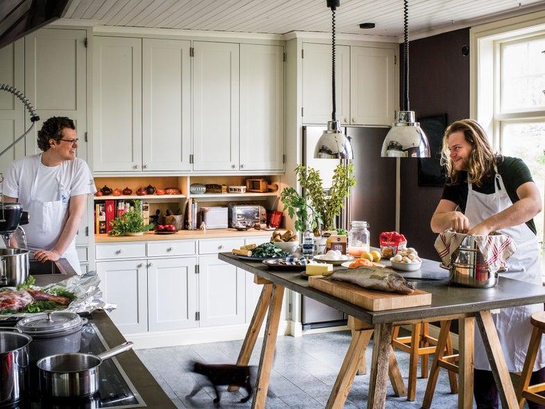 Sweden, Magnus Nilsson, Jesper Karlsson, kitchen