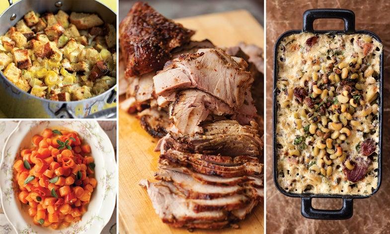 Menu: A Georgia Christmas Dinner