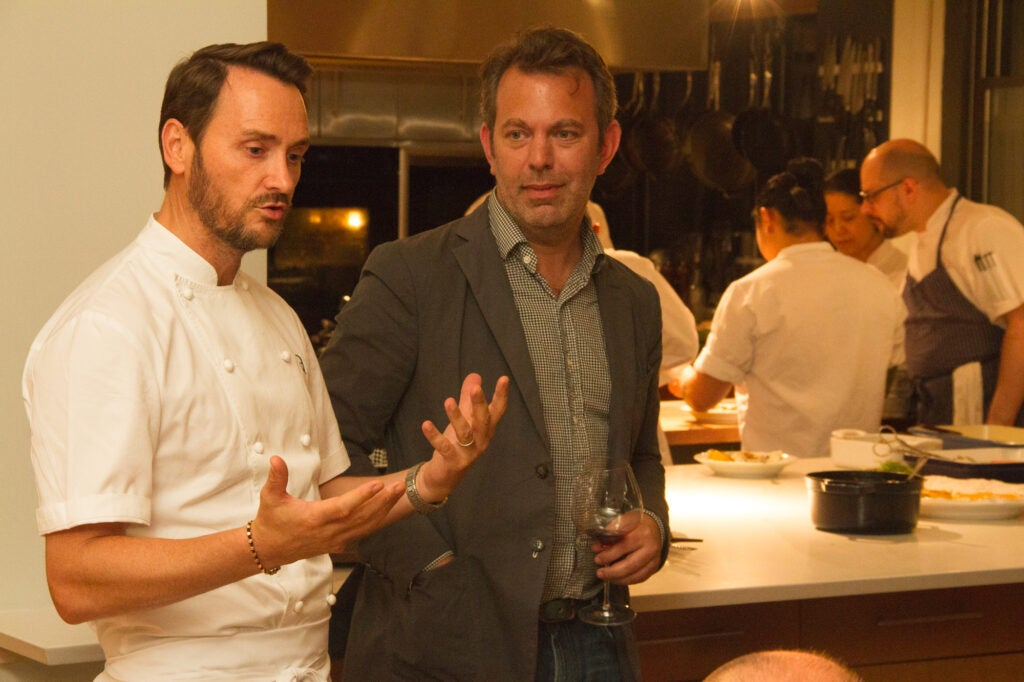 Chef Jason Atherton talks about his food with SAVEUR Editor in Chief Adam Sachs.
