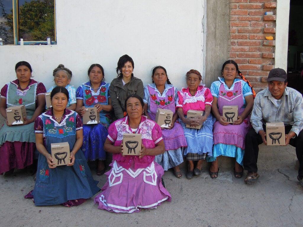 Kythzia Barrera and Oaxacan Potters