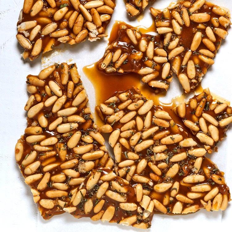 Pine Nut Brittle