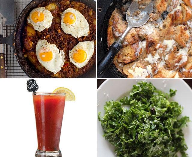 Menu: Thanksgiving Leftovers Brunch