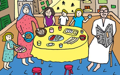 Recipe Comix: The Perfect Egyptian Breakfast