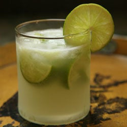 Cachaça-Lime Cocktail (Caipirinha)