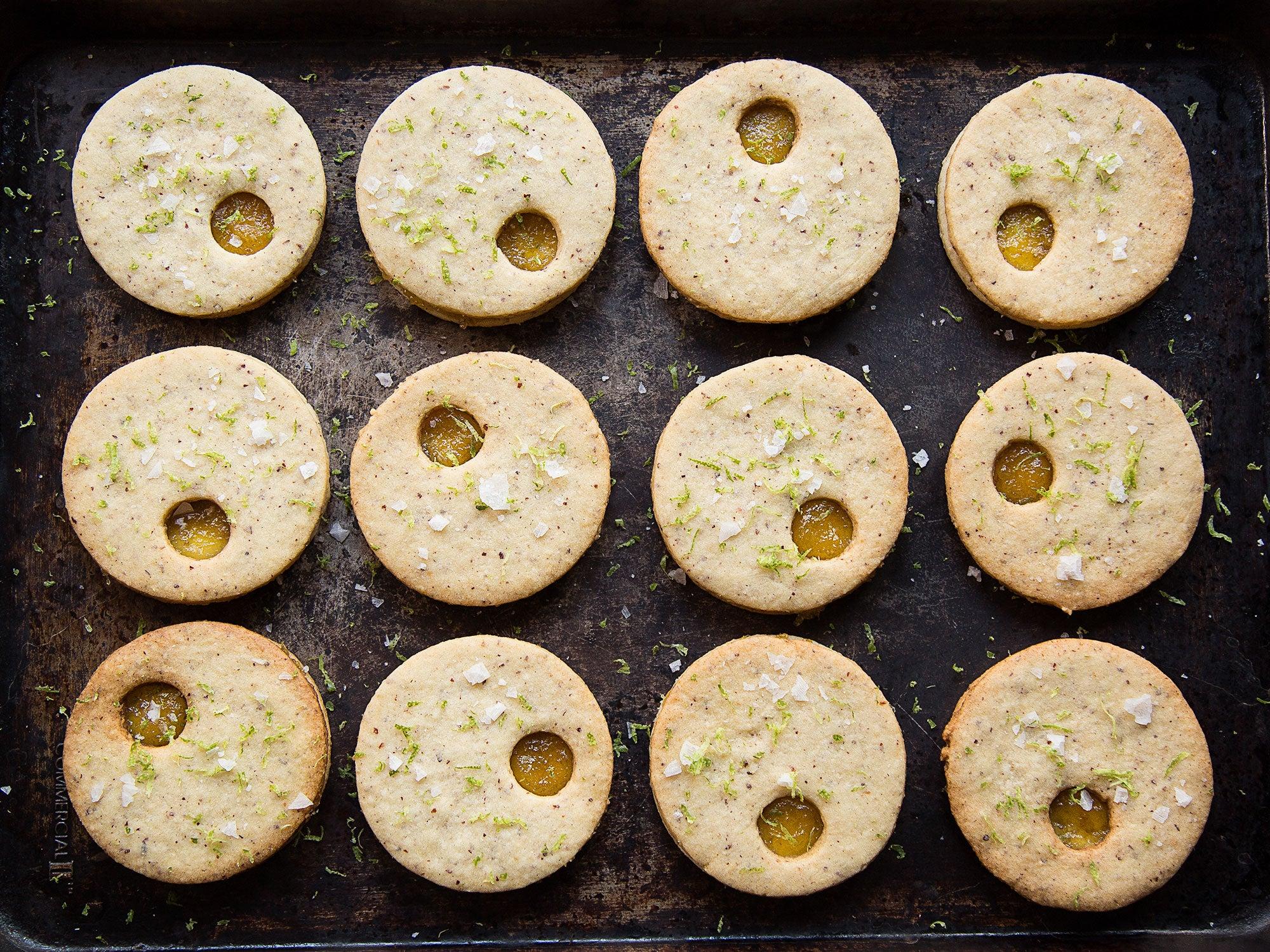 Pineapple Tea Cookies